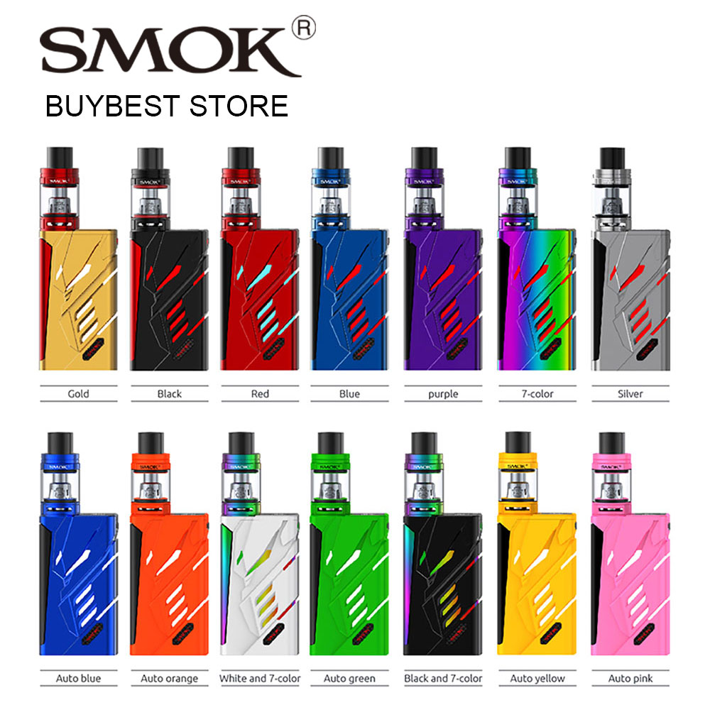 Original 220W SMOK T-Priv TC Kit with 2ml/5ml TFV8 Big Baby Tank Atomizer Standard/EU Edition Vs Ikonn 220 E-cigs Starter Kit original 80w smok osub baby tc vape kit eu version with tfv8 baby beast atomizer 2ml tank