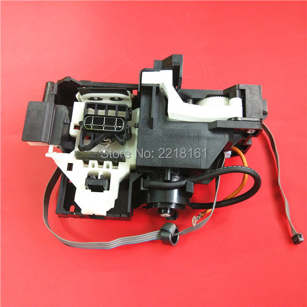 US $46 53 6% OFF|Best price wide format printer spare parts for Epson T1100  B1100 ME1100 cap station clean unit/Ink pump assembly 1pc retail-in