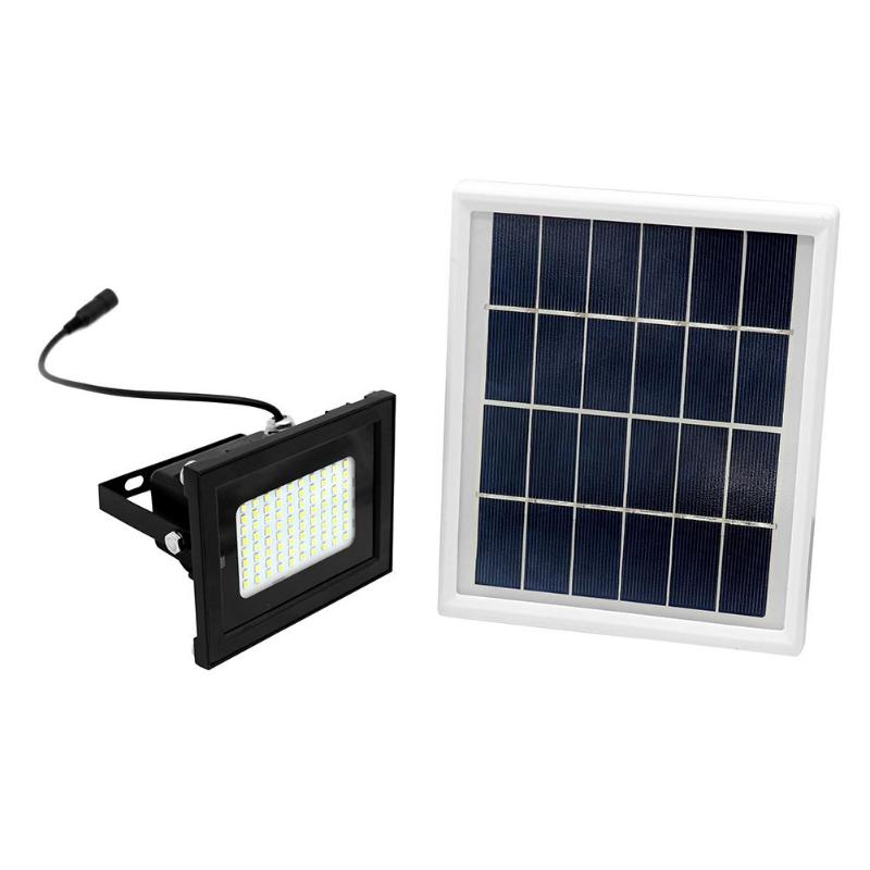 Solar Lamps 80 Led Dual Color Remote Solar Light Sensor Flood Spot Light Garden Ip65 Outdoor Garden Corridor Park Corridor Security Lamp To Help Digest Greasy Food Outdoor Lighting