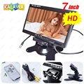 7 Polegada (800*480) TFT LCD HD Monitor Do Carro Rear View Monitor de Encosto de cabeça Do Carro com 2 Canais De Entrada De Vídeo G-788 GGG FREESHIPPING