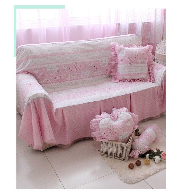 MK Korean universal sofa cover Cotton Reactive printing