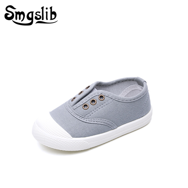 Kids Canvas Shoes Girls Sneakers 2019 Spring Summer Baby Boy Casual Shoes Children Toddler Baby Girl Sports Shoes