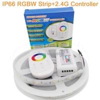 5M 12V 5050 RGBW RGBWW LED Strip 60LED M IP66 Silicone Waterproof Flexible LED Tape White