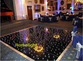 Specil price 2x4ft  LED starlit dance floor  LED star tile/panel with twinkling star led floor stage, wedding, nightclub