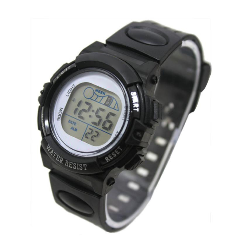 Perfect Gift Fashion Girl Boy LED Light Wrist Watch Alarm Date Digital Multifunction Sport Levert Dropship Mar06 new children s indoor outdoor required baby boy girl alarm date digital multifunction sport led waterproof kid wrist watch d