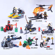 Legoings Ninjagoing Super Heroes Jay Cole Zane Lloyd Car Building Blocks Toys for Children Compatible Ninjagoings Legoing Figure(China)