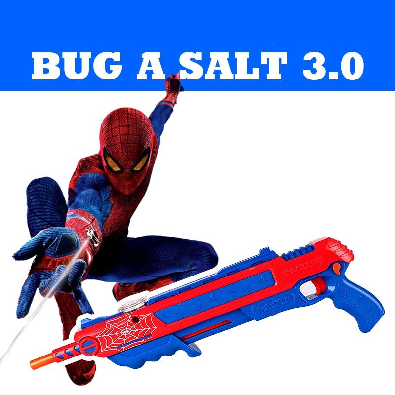 12 set airsoft pistola airsoft pistolet à sel bug a sel tuer mouche moustique pistolet jouet avengers sel pistola poivre balles pistolet plein air jouet