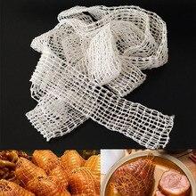 3 метра хлопчатобумажная колбасная сетка для приготовления мяса мясная струнная колбаса в рулоне сетка для хот-догов упаковка для колбасы инструменты оптовая продажа