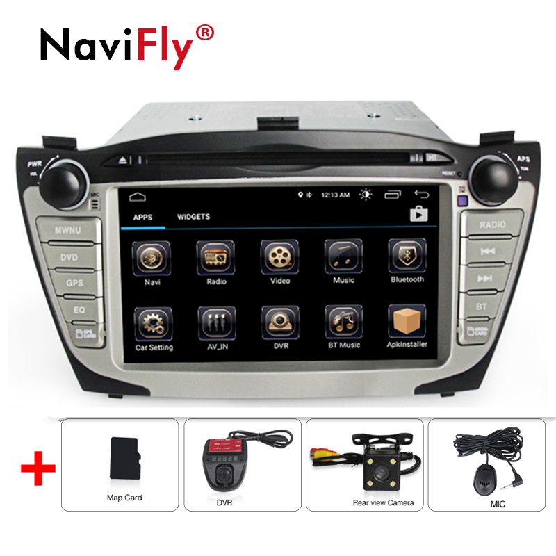 New! 2din Android 8.1 Car radio GPS Navigation For Hyundai ix35 Tucson 2009-2015 Audio Radio Stereo Head Unit WIFI BT RDS Canbus