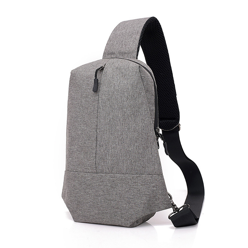 Man Chest Bag Messenger Men Shoulder Bags Casual Male Nylon Hidden Chest Pack Mens Retro Crossbody Bag Cool Bag
