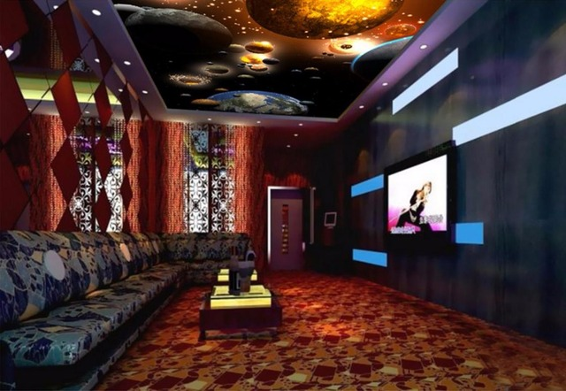 Us 15 29 49 Off Wallpaper Paper European 3d Ceiling Wall Photo For Bedroom Livingroom Wallpaper 3d Ceiling Japanese Style In Wallpapers From Home