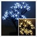 Luz De Navidad LED Cherry Tree Lámparas Night Lights Holiday Luminaria Garland Lámparas de Mesa para el Hogar Decoración Del Festival
