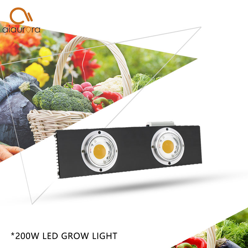 CREE CXB3590 200W COB LED Grow Light Full Spectrum Dimmable 26000LM HPS 400W Growing Lamp Indoor Plant Growth Panel Lighting in Growing Lamps from Lights Lighting