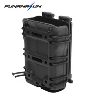 Military Magazine Molle Pouch Holster Airsoft Tactical Rifle 5 56 Mag Carrier Case With Inner Flocking