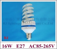 New Style Screw Shape LED Corn Bulb Lamp Light 16W 1400lm SMD2835 40led AC85 265V E27