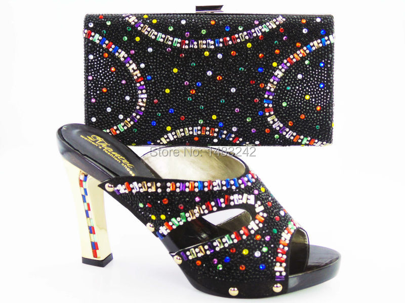 ФОТО Free Shipping!New arrival fashion nice matching lady shoe and bag set size 37 to 43 for retail and wholesale
