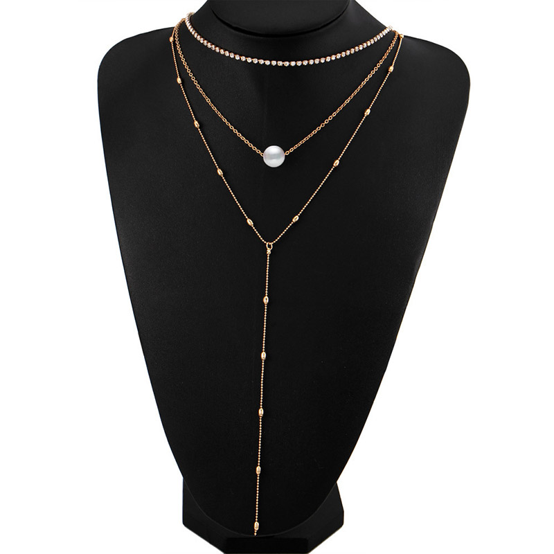 Premium Pearls Necklace Set 12
