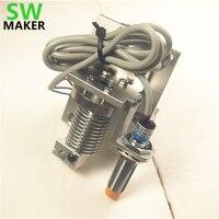 SWMAKER Reprap Prusa i3 v6 Bowden X-arabası montaj ve Endüktif Proximity Sensör ile V6 bowden ekstruder hotend kiti 1.75/3mm