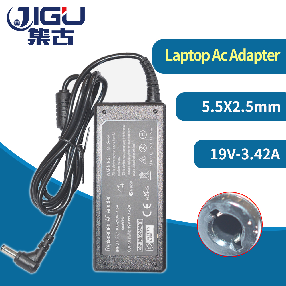 Wholesale 19V 3.42A 65W Universal Laptop Adapter Power Supply Charger for Acer Gateway forToshiba for HP for ASUS R33030 <font><b>N17908</b></font> image