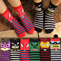 Brand Cartoon Pattern Super Quality Funny Men's Sock Cotton harajuku Winter Warm Breathable Deodorant for Men Socks Male M462