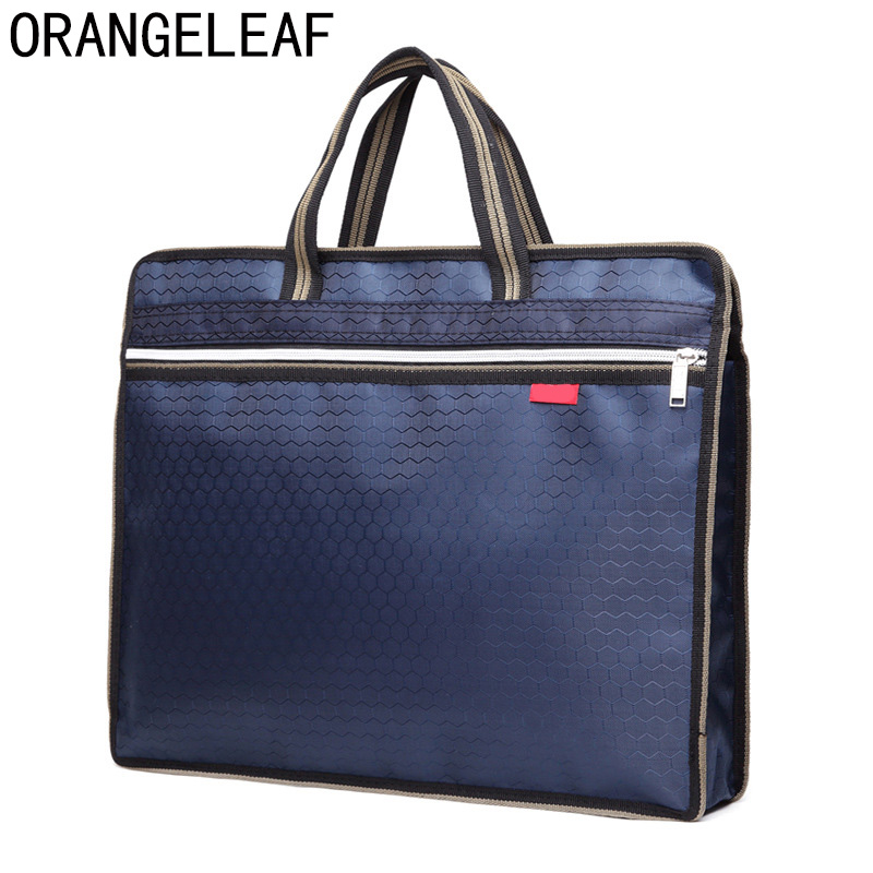 0ce7faee16c4 New A4 PU Office Briefcases for Men and Women Lightweight Messenger Bag Men  File Storage Bag Handbag Briefcases-in Briefcases from Luggage   Bags on ...