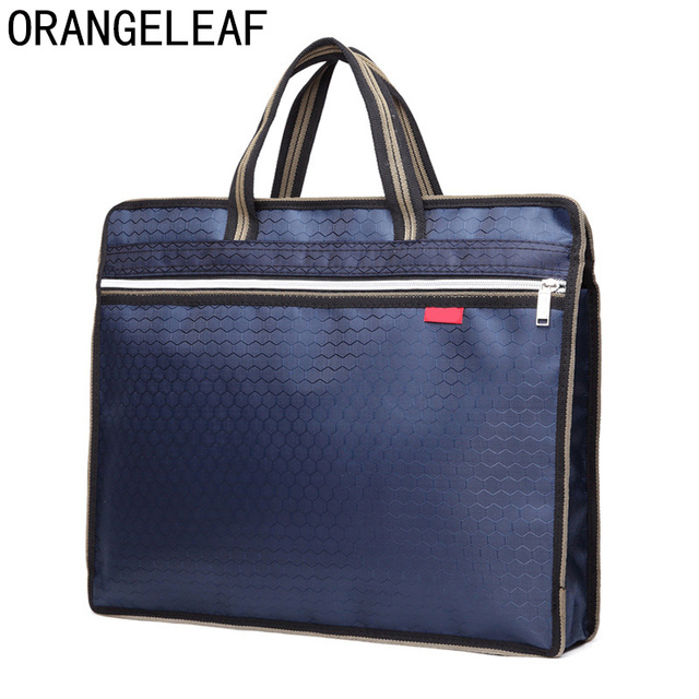 envío gratis Nueva York retro Nuevo A4 PU Oficina maletines para los hombres y las mujeres de bolso  mensajero archivo almacenamiento bolsa