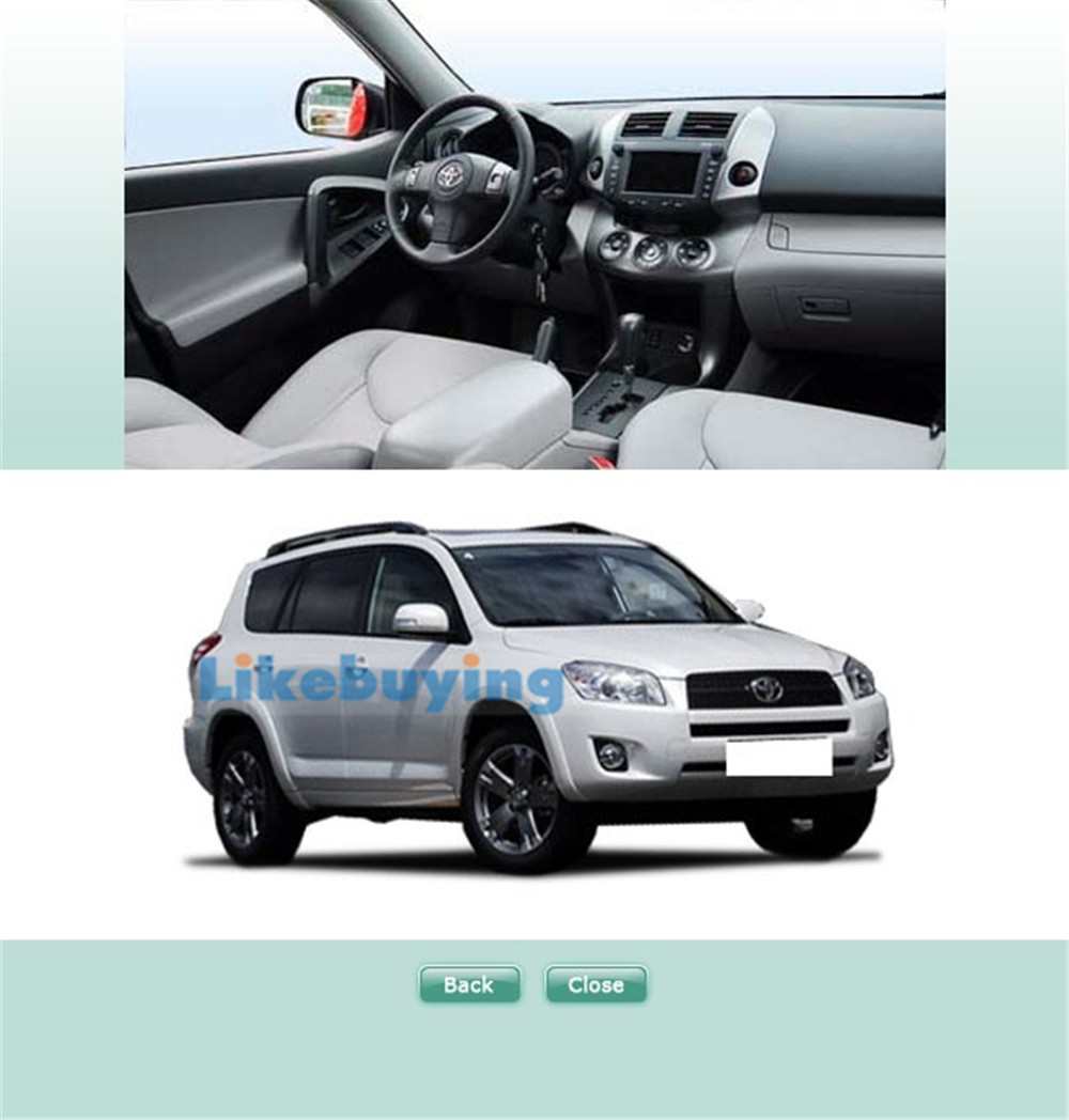 2 Din Car Frame Dash Kit / Car Fascias / Mount Bracket Panel For Toyota RAV4  2006 2007 2008 2009 2010 2011 2012-in Fascias from Automobiles &  Motorcycles on ...