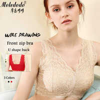 Silicone Breast Bra Mastectomy Bra Red Lace Pocket Bra 95C for Fake Breast Forms Prosthesis Cancer Women Artificial Boobs D30