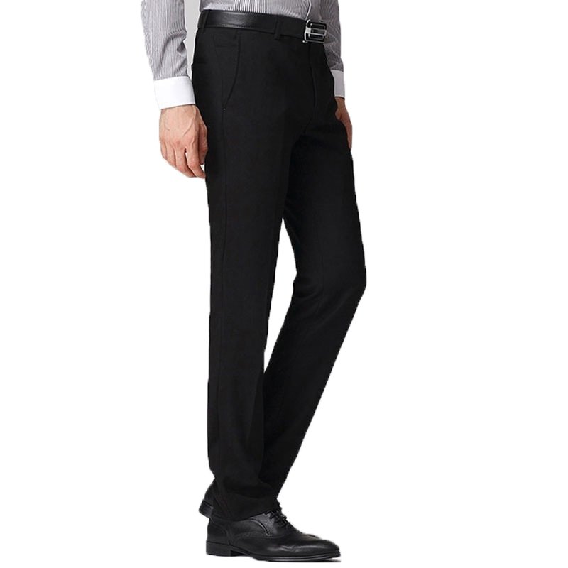For Man De Vestir Formal hombre Slim Fit Office Dress Pantalon Homme Classique men Skinny Casual Korean Longo Pants Trousers