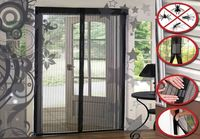 Mosquito Door Net Mesh Screen Door Hands Free 22 Magnets Magic Mesh Anti Insect Fly Bug