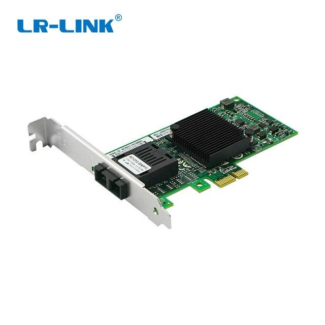 LR LINK 9260PF LX  Gigabit ethernet server adapter 1000mb fiber optical network card  Intel 82586 Compatible E1G42EF Nic