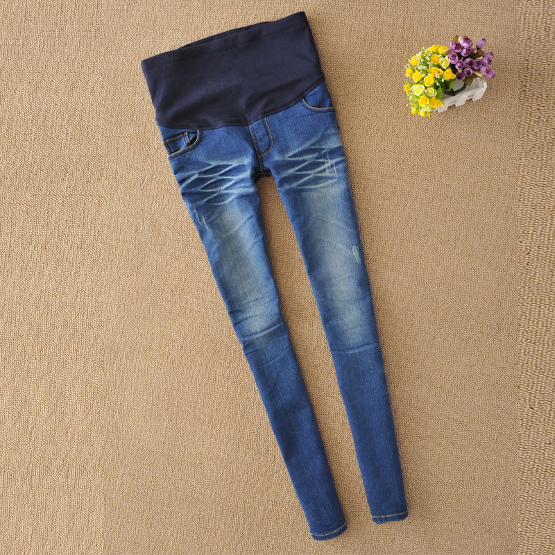 Maternity Jeans For Pregnant Woman 2017 Pregnancy Jeans Pregnant Women Elastic Waist Jean Pregnancy Pants Y879 loose stretch harem jeans with elastic waist woman elasticity harem jeans trousers for women pants large size