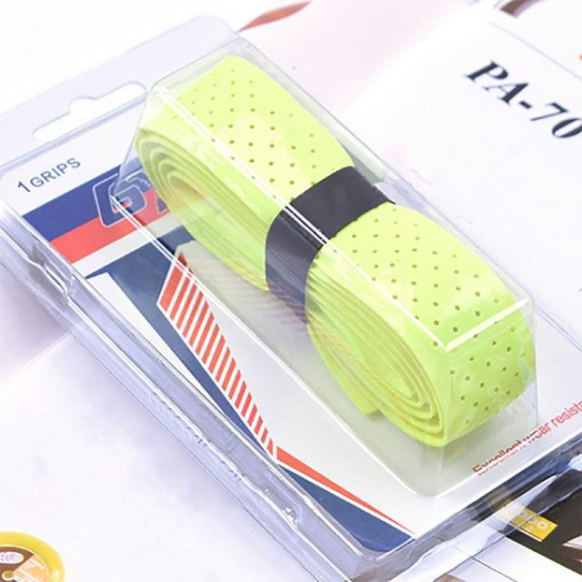 Outdoor Sports Badminton Sweat Belt Tennis Racket Band Towel Hand Glue Take-up Strap Handshake Handle Multi Color Optional 4