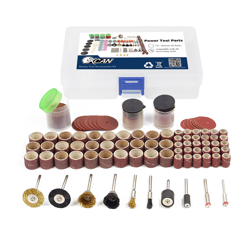 150pcs Electric Rotary Tool Bit Set Drill Engraving Grinder Head Cutting Power Tool Carving Grinding Accessories Polishing Tool