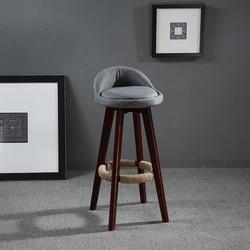 ارتفاع 60 سنتيمتر قطب بار البراز كرسي مقعد منجد مقعد/الخلفي الماهوغوني إنهاء القهوة كافيه مطبخ بار الأثاث كرسي البراز