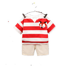 Children Boys Girls Clothes Set Kid Cartoon Vest And Shorts Summer Style Baby Suits Toddler Clothing Cute Brand Tracksuits toddler baby boys tracksuits 2017 summer children cartoon sports suits kids sleeveless vest shorts clothes outfit age 1 4t