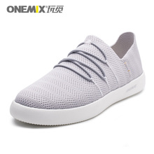 ONEMIX Lightweight Men Casual Shoes Slip-on Breathable Mesh Upper Sneakers For Women zapatillas hombre