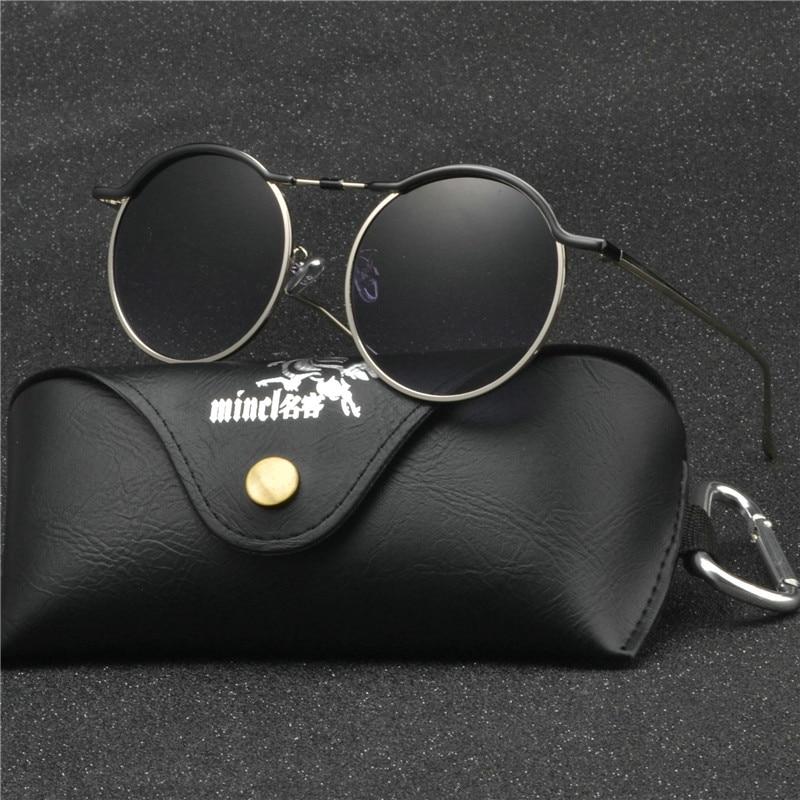 b1e8fa493f Buy retro metal frame sunglasses round punk and get free shipping on  AliExpress.com