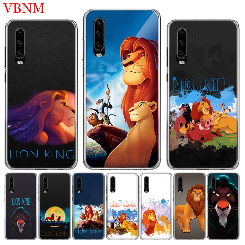 The Lion King Simba Soft Silicone Phone Case for huawei mate 30 ...