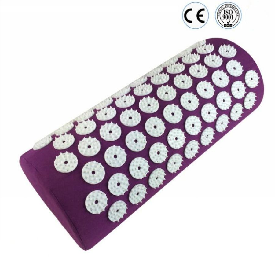 цена на Massager Pillow Massage cushion Acupressure Mat Relieve Stress Pain Acupuncture Spike Yoga Mat with Pillow Drop shipping