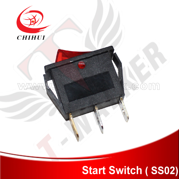 Electric Kids Scooter On/off Switch 3 Pins Power Switch(Scooter Parts & Accessories )