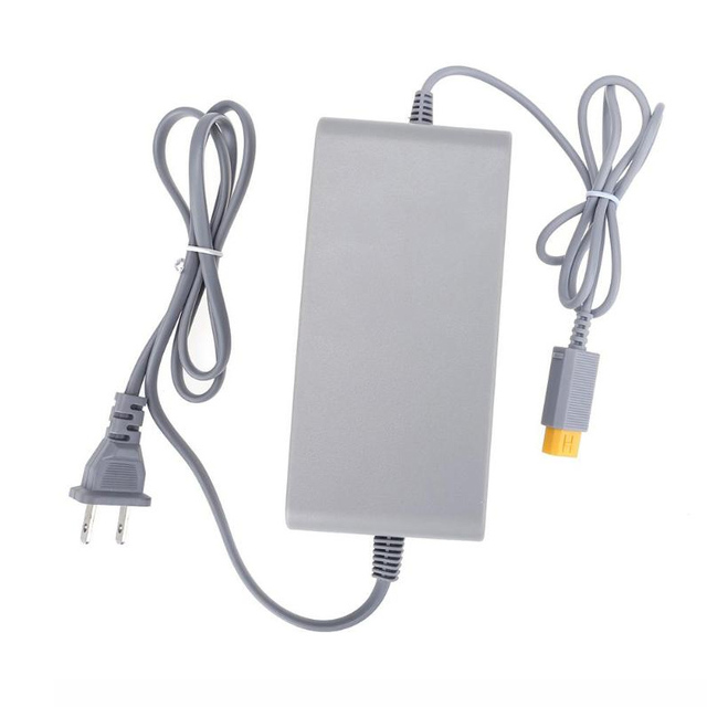 Wii U 콘솔 용 EU/US/UK 어댑터 110V 220V EU 플러그 전원 공급 장치 AC 어댑터
