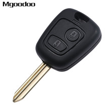 2 Button Car Remote Control Key Shell W/ Chip For Citroen C1 C2 C3 C4 XSARA Picasso Replacement Keyless Entry Fob Uncut Blade цены