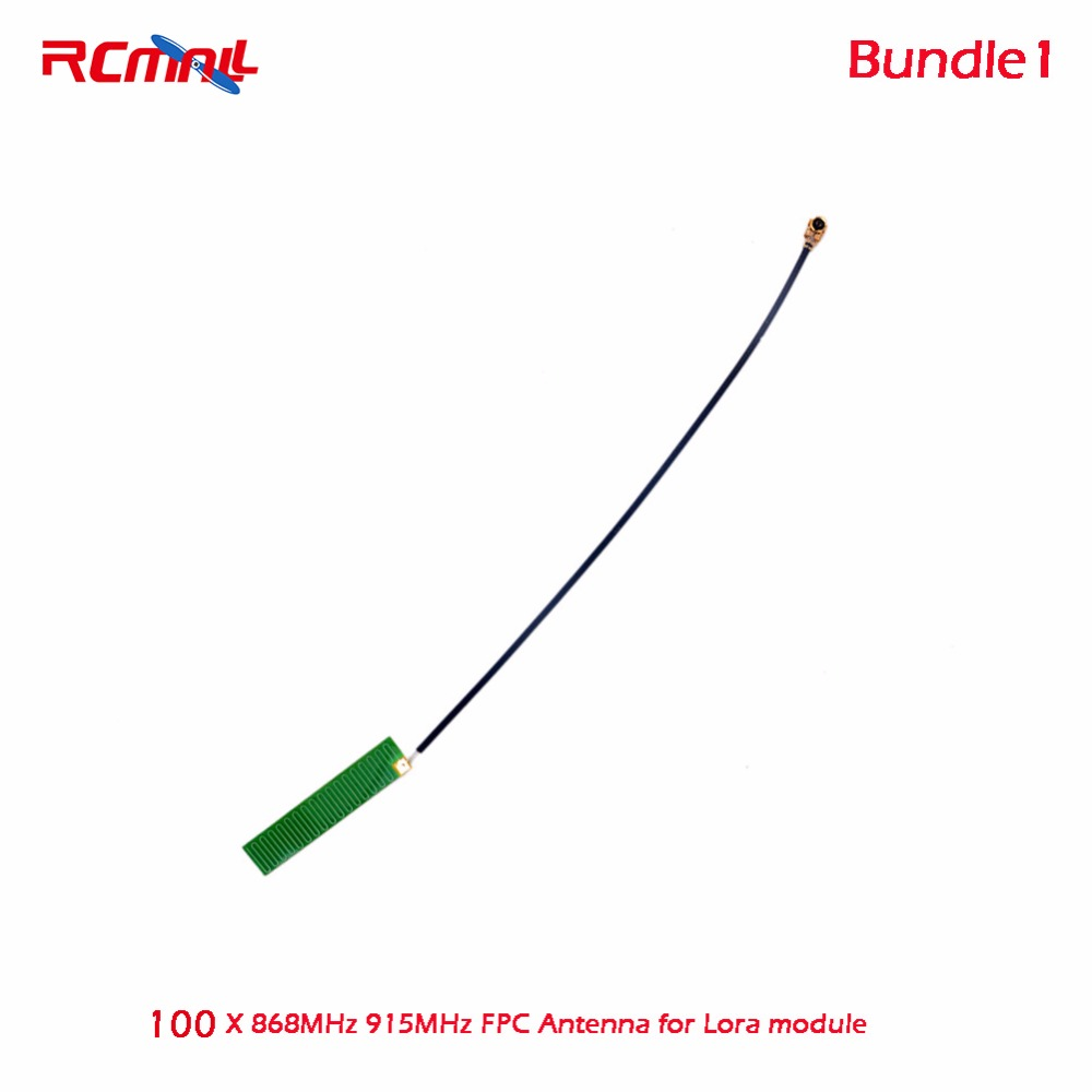 100pcs RCmall 868MHz 915MHz FPC Antenna/868MHz Spring IPX IPEX 1.13 Antenna/IPEX Antenna 850-1850MHz for Lora module FZ2862/3/5 ipex terminal taiwan tai au ceramic gprs sim808 module gps antenna active gps built in antenna