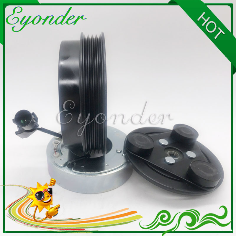 AC A C Air Conditioning Compressor Electromagnetic Magnetic Pulley Clutch for Hyundai i10 PA Kia PICANTO