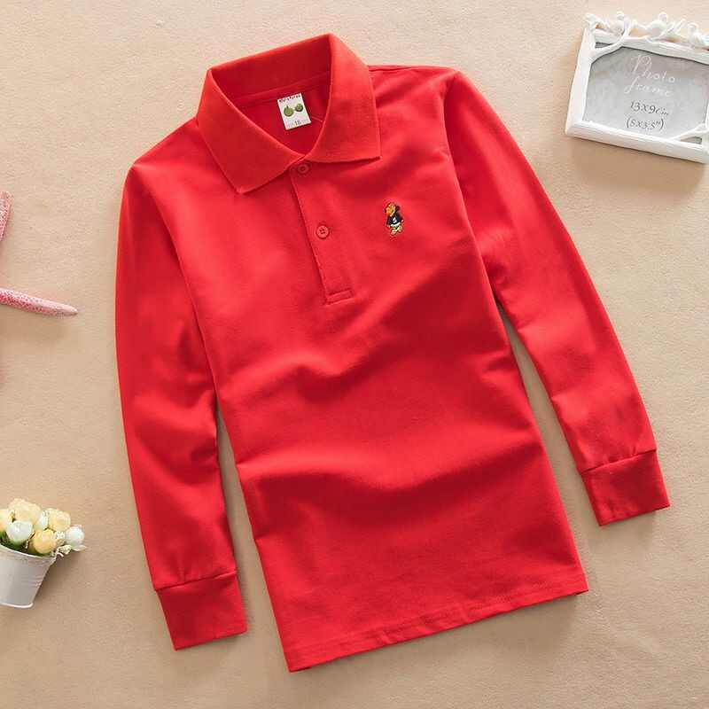 高品質綿 100% 2019 新ファッション子供ポロシャツ子供ターンダウン襟ボーイズガールズ子供半袖服