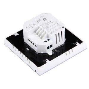 Image 4 - 16A 220 V AC LCD écran tactile hebdomadaire Programmable électronique chauffage par le sol température téléphone contrôleur chambre Air Thermostat WIFI