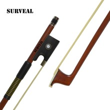 Prossional  violin bow with best Mongolia horse tail and elastic for begginner,size 1/4,1/2,3/4,4/4,1/8, Free shipping