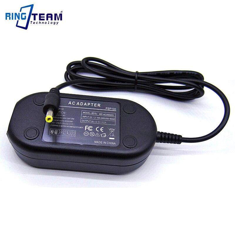 10 компл./лот. экспресс. Камера адаптер переменного тока для sony PSP100, PSP-100, PS-P100