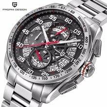 PAGANI DISEÑO Original Top Luxury Brand Deportes hombres del Cronógrafo Relojes de Cuarzo Resistente Al Agua Relojes saat Reloj Relogios